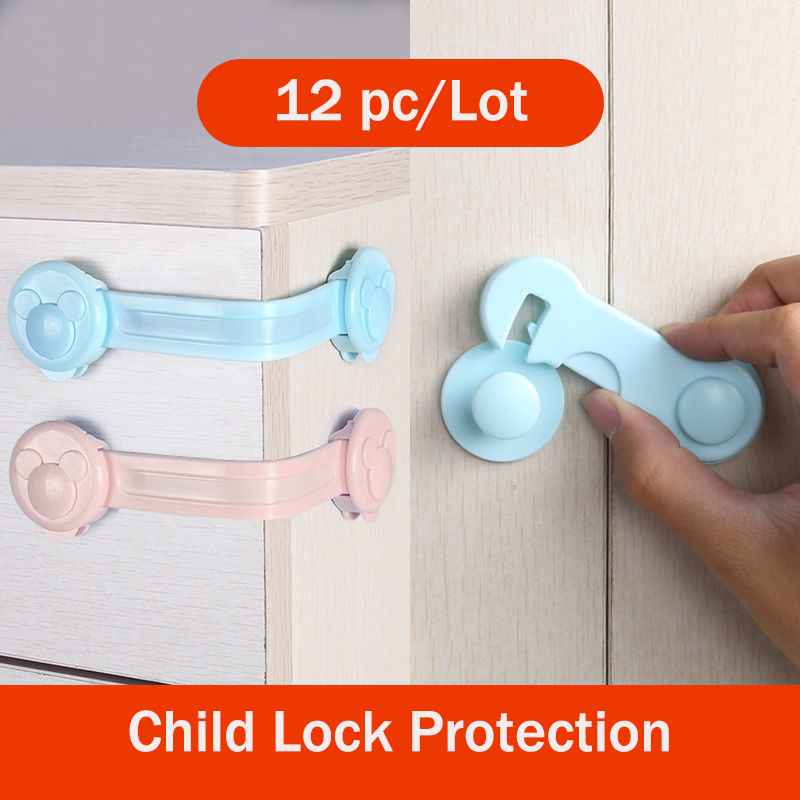 Child Lock Protection Of Children Locking Doors For Children's Safety Kids Safety Plastic Protection Safety Lock