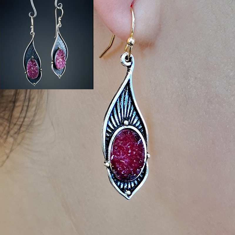 Off-Road 4x4 Jewelry for Her Pair Lifetime Guarantee E0906 Red 4x4 Earrings