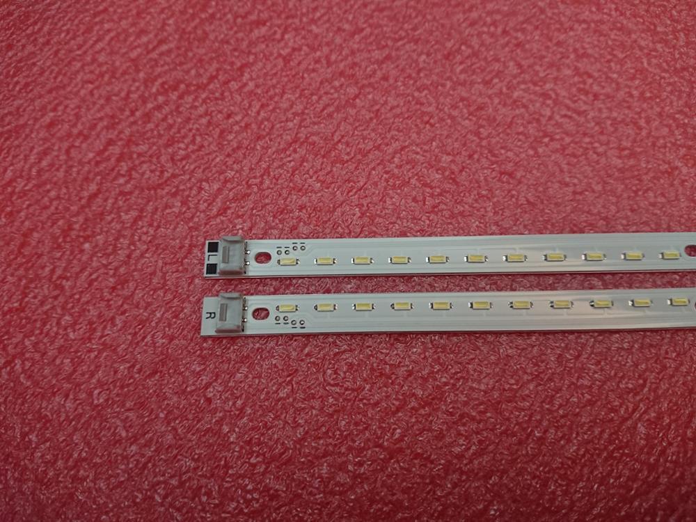 New 2pcs 64LED 475mm LED Backlight Stirp For TH-L42E30W LG 42F1 42F102 NLAW20103R NLAW20103L 111116A-0354 11063C-0315