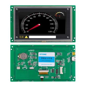 7 inch Programmable Industrial HMI  TFT LCD Screen Panel with Touch Controller for Embedded System
