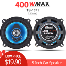 2pcs 5 Inch 400W 2 Way Car Coaxial Auto Audio Music Stereo Full Range Frequency Hifi Speakers Loundspeaker for Cars Vehicle