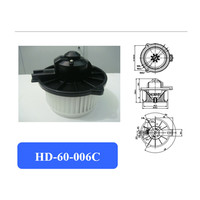 Motor de ventilador de aire acondicionado automotriz/ventilador electrónico/motor de ventilador corolla