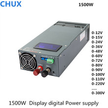 Switching Power Supply 1500W 12v 15v 24v 27v 36v 48v 60v 72v 80v 90v 100v 110v  220v 300v with display adjustable power supply