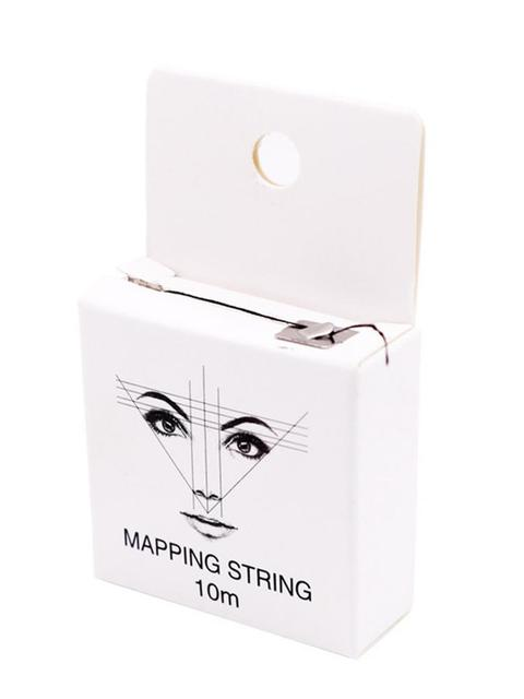 Mapping String Pre-ink String For Microblading Eyebow Make Up Dyeing Liners Thread Semi Permanent Positioning Eyebrow