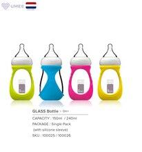Umee bouteille de nourriture en verre pour bébé, 240ml, bouteille de nourrice pour bébé