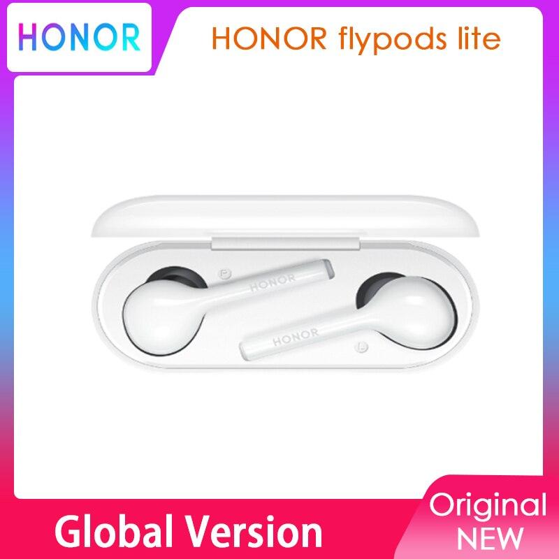 Huawei-auriculares inalámbricos Honor Flypods Lite, cascos intrauditivos con Bluetooth, HI-RES Hi-Fi, resistentes al agua IP54, originales
