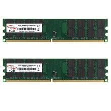 8gb 2x 4gb PC2-6400 DDR2-800MHZ ram 1.8v sdram da memória do desktop de 240pin amd apenas para amd não para o sistema intel