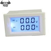 DANIU 0 D85 3050 DC 200 V 10A Digital Voltímetro Digital Amperímetro Painel LCD Volt Amp Medidor Medidor|Medidores de tensão| |  -