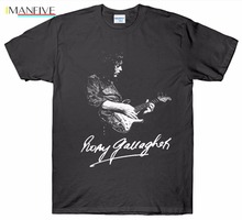 2019 Brand New Clothing Mens Printed Shirts Rory Gallagher T Shirt Guitarist Guitar 1970S 1980S Retro Vintage Tee