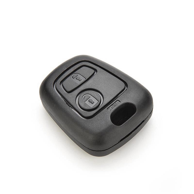 New Case 2 Buttons Remote Key Case Shell Cover Housing Fob For Peugeot 107 207 307 407 106 206 306 406 B88