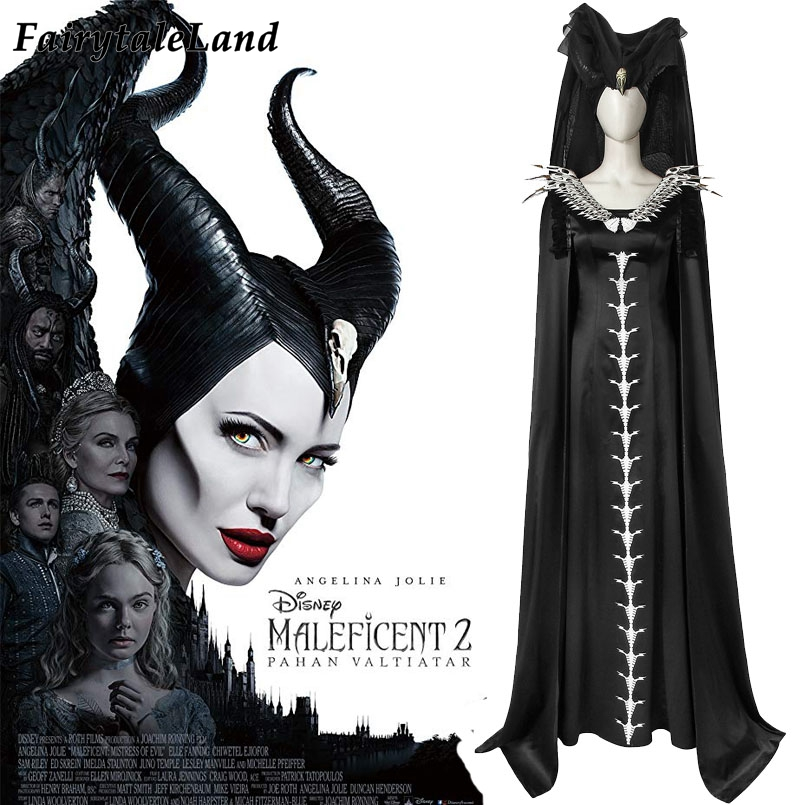 Maleficent Dress Costume Adult Maleficent Halloween Carnival Cosplay Costume