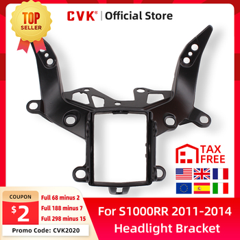 CVK Headlight Bracket Motorcycle Upper Stay Fairing for BMW S1000 S1000R s1000rr S 1000 RR 2011 2012 2013 2014 11 12 13 14 Parts free shipping upper fairing stay bracket for yamaha r6 2006 2007 r6s 2006 headlight fairing stay bracket
