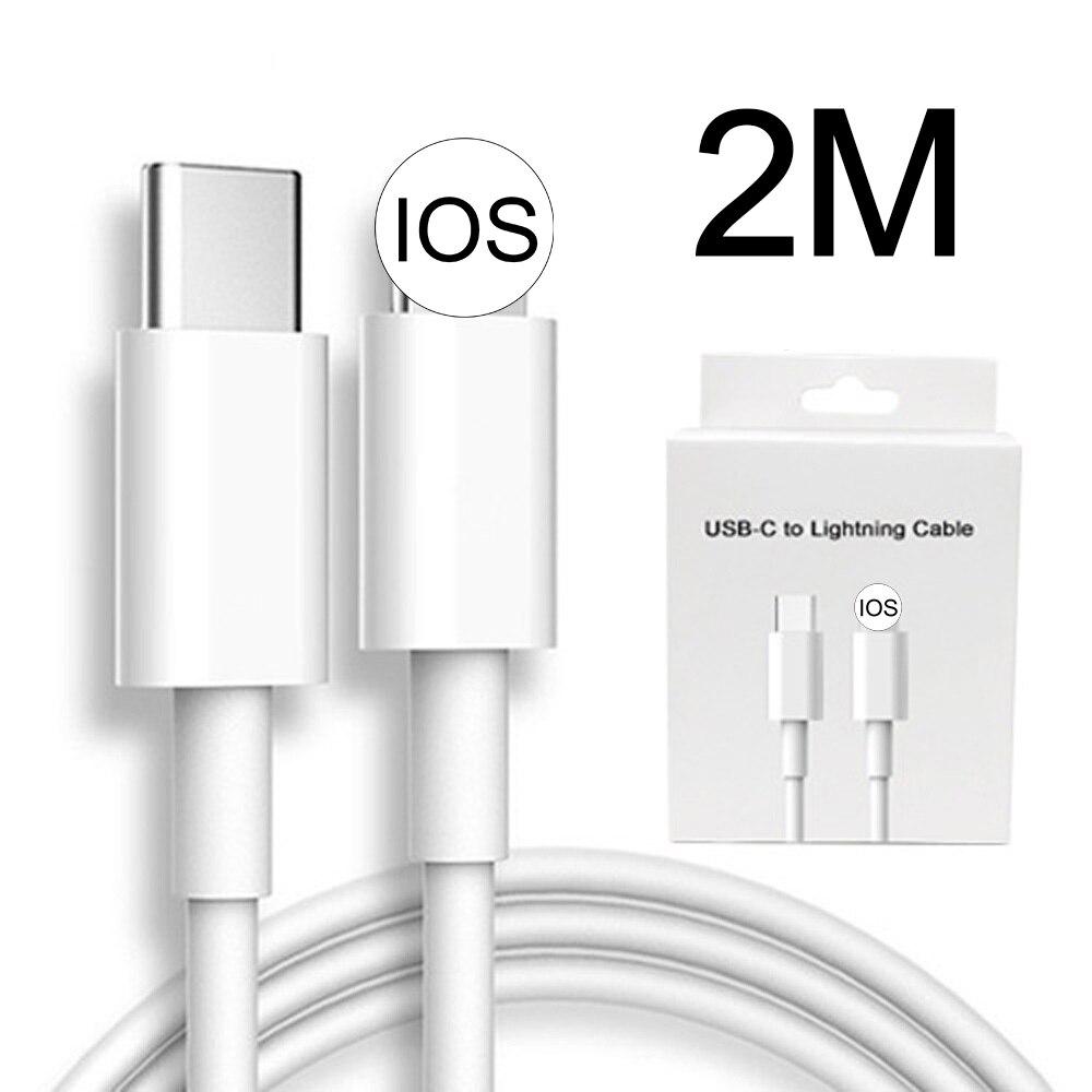 2 м 20 Вт Быстрая зарядка PD USB C Type C кабель зарядного устройства для iPhone 12 Pro Max Мини 11 Xs Xr X 6 7 8 plus se 2020 для мобильного телефона|Кабели для мобильных телефонов|   | АлиЭкспресс
