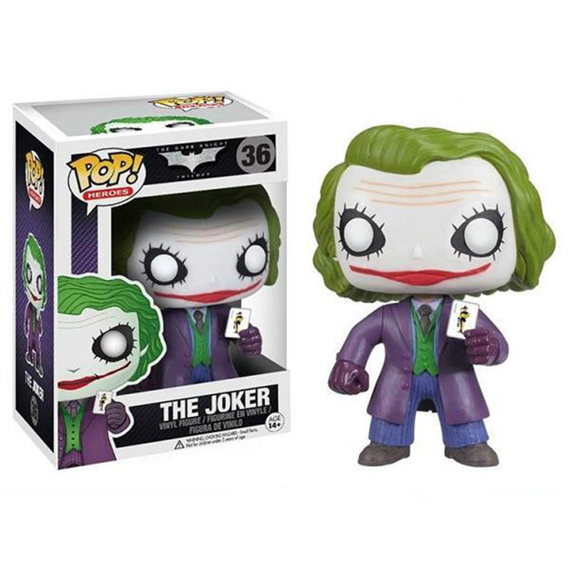 FUNKO POP Batman & The Joker 36# Vinyl Action Figure Brinquedos Collected Model Toys For Children Christmas Birthday Gift