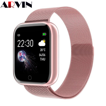 Arvin Smart Watch 2020 Heart Rate Fitness Sport Smartwatch Men Women ladies Whatsapp For IOS Android