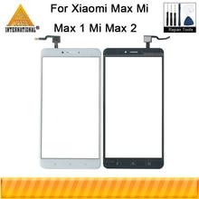 Axisinternational Xiao mi Max mi Max 1 mi Max 2 cam Panel dış Lens ön dokunmatik ekran beyaz/siyah mi Max dokunmatik Panel