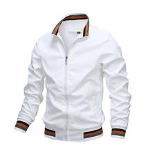 Mens Fashion Jackets and Coats New Men's Windbreaker Bomber Jacket 2021 Autumn Men Army Cargo Outdoors Clothes Casual Streetwear