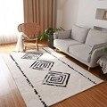 Марокканские индийские ковры ручной работы для гостиной современный домашний ковер для спальни диван журнальный столик напольный коврик ...