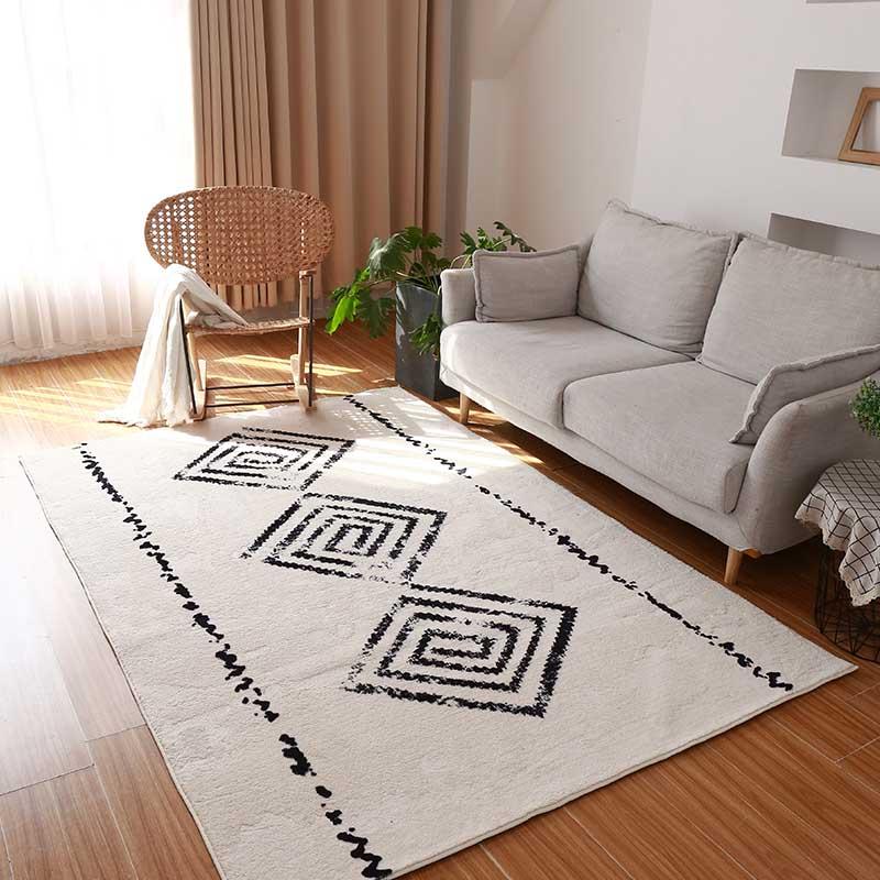 Moroccan India Handmade Carpets For Living Room Modern Home Carpet