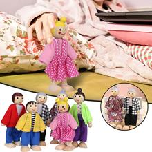 6 шт набор людей куклы детские игрушки для девочек прекрасный