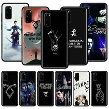 Shadowhunters Runes Silicone Phone Case For Samsung Galaxy S10 S10e S10 Lite S20 Ultra 5G S8 S9 S20 Plus S7 Edge TPU Cover Couqe tv riverdale jughead jones silicone case for samsung galaxy s20 ultra 5g s10 s10e s9 s8 s7 s10 s9 s8 plus s7 edge phone cover