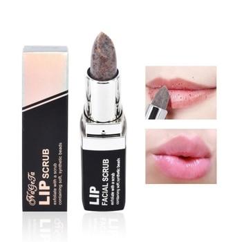 Línea de labios de desalinización exfoliante palo de exfoliante higiénico de larga duración lápiz labial Anti envejecimiento cuidado de maquillaje L1