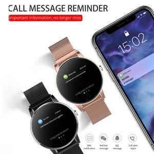 Image 5 - LEMDIOE ผู้หญิง Mens Smart Watch กันน้ำ IP67 Heart Rate Monitor คูณกีฬาโหมดเปลี่ยนได้คู่สายนาฬิกาสมาร์ท
