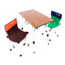 Outdoor Folding Table Camping Fishing Card Aluminum Alloy Waterproof Picnic