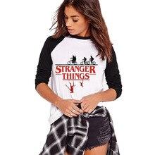 Женская футболка для чужих вещей, осенние свободные топы с длинными рукавами, женские футболки с забавным принтом, одежда больших размеров, женская футболка