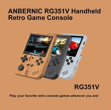 RG351V Retro Games Built-in WIFI Vibration 128G RK3326 Open Source 3.5 Inch ANBERNIC handheld game console Emulator For PS1