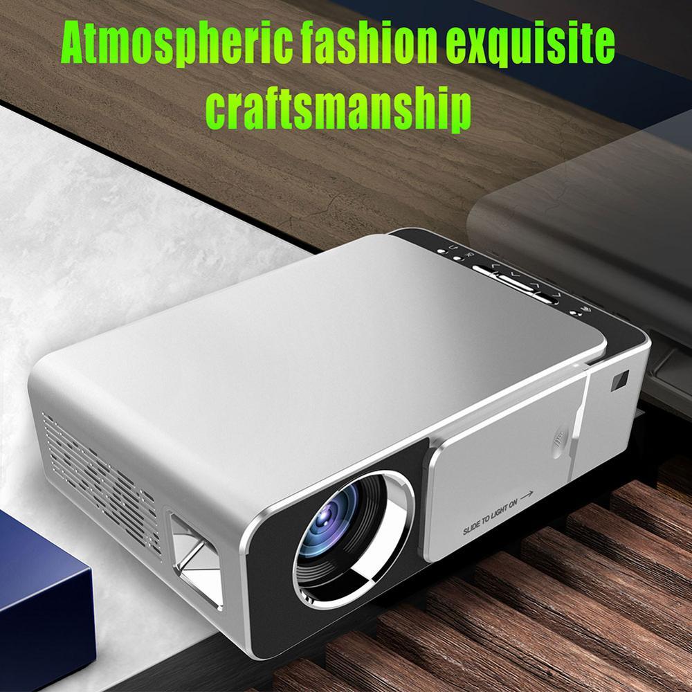 Оригинальный VIVIBRIGHT GP80 проекты светодиодный 1800 люмен HD мини портативный проектор для домашнего кинотеатра Поддержка 1080P USB HDMI - 6