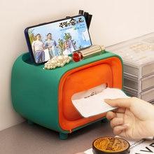 Коробка для салфеток телевизора настольный бумажный контейнер