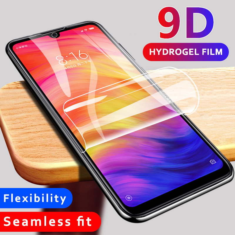 Hydrogel Film Screen Protector For Xiaomi Redmi Note 8 Pro 7 K20 Pro 7A 8Pro Soft Front Glass For Xiaomi Mi 9T Pro 9 SE Mi9 T