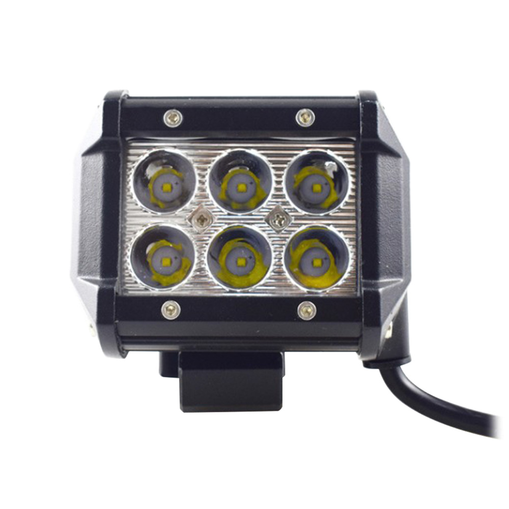 NEW 11 18 W 12 <font><b>V</b></font> 2 4 inch LED Work Light LED Bar Light for Motorcycle Tractor Boat Off Road Truck SUV ATV <font><b>6</b></font> WD led beams 1 PCS image