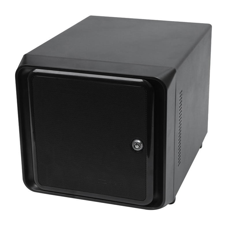Mini-ITX Hot Swap 4 Buchten NAS Wolke Lagerung IPFS Server