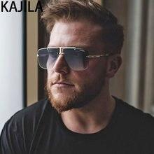 Vintage Platz Randlose Sonnenbrille Für Männer Hohe Qualität Luxus Marke Retro Sonnenbrille Männlich Fahren Brillen Gafas De Sol Hombre
