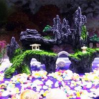 Resin Rockery Stone Fish Tank Landscaping Aquarium Decoration Rockery Mountain Hiding Cave Pet Supplies