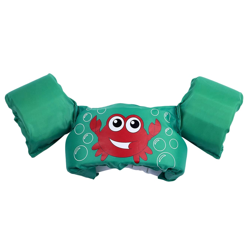 Puddle Jumper Swimming Pool Cartoon Life Jacket Safety Float For Kids Baby