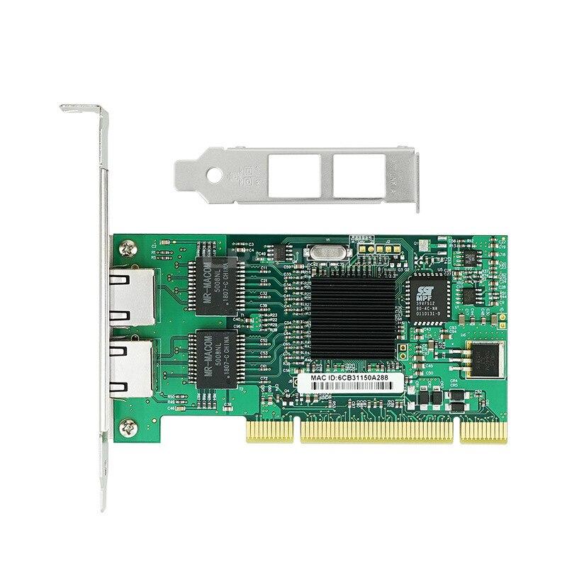 PCI Серверная сетевая карта 1000 M RJ 45 Ethernet настольный адаптер