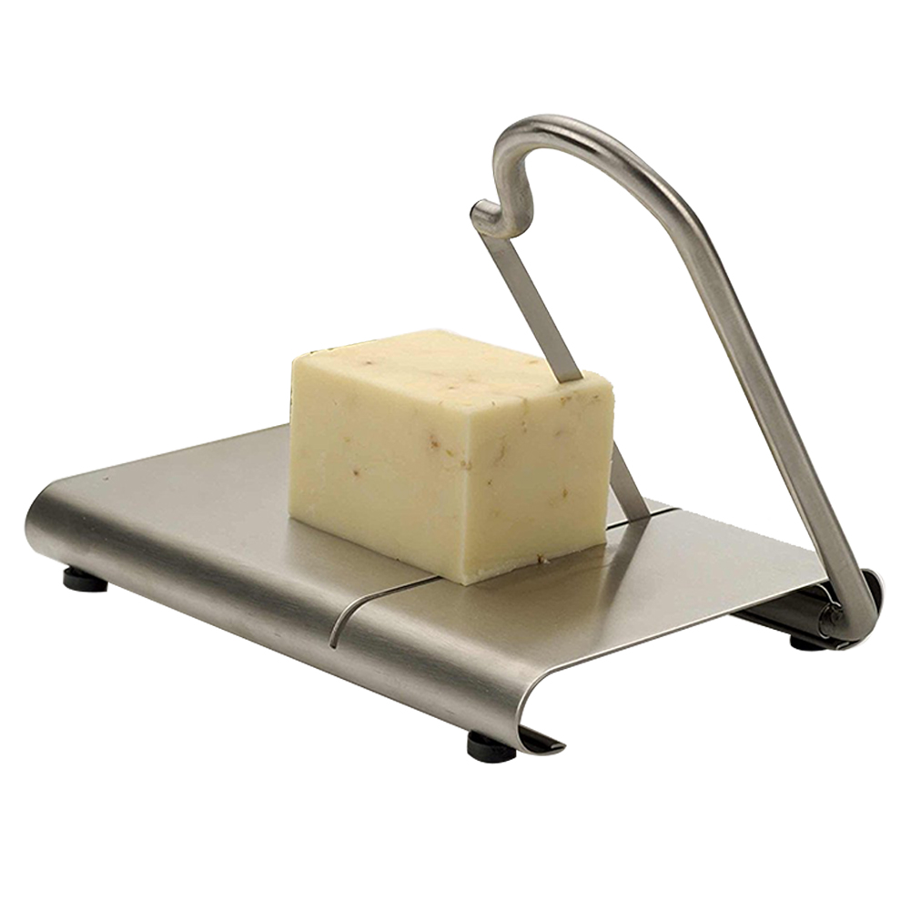 Kitchen Tools <font><b>Cheese</b></font> <font><b>Slicer</b></font> Anti-slip <font><b>Wire</b></font> Cutter Baking Serving Board Practical <font><b>Stainless</b></font> <font><b>Steel</b></font> DIY Fruits Hard Vegetable image