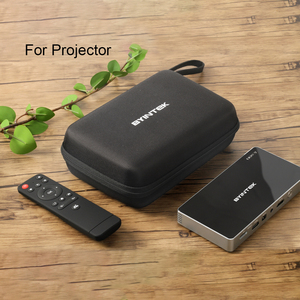 BYINTEK DLP Mini Projector Bag, Portable Hard Storage Carry Case Travel Bag for UFO P12 P10 P9 R7 (Projector is not included)