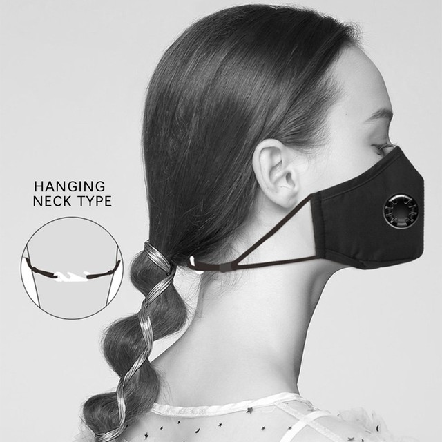 In Stock 1pc + 2 Filters Mask Adjustable Reusable Protection Personal Care