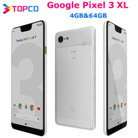 Google Pixel 3XL oryginalny Unlocked GSM 4G Android telefon komórkowy 6.3 ''12.2MP i podwójny 8MP Octa Core Snapdragon 845 4GB i 64GB NFC