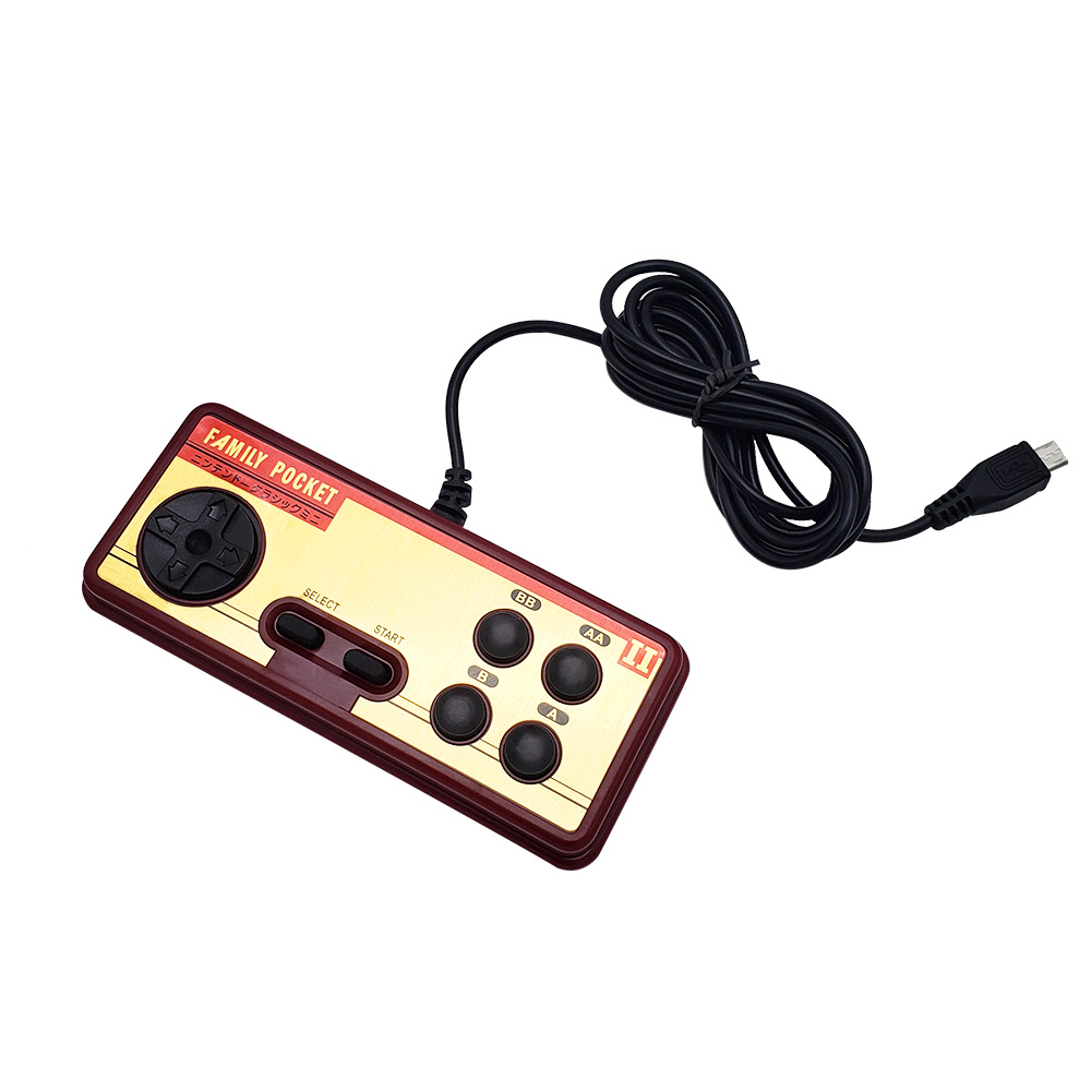 FC280 Nostalgic Handheld Game Console Handle for Double Player Children Birthday Gift
