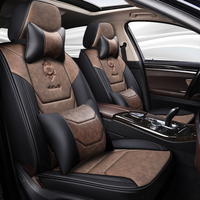 Full Coverage Eco leather auto seats covers PU Leather Car Seat Covers for ford kuga mk2 mondeo mk3 mk4 ranger