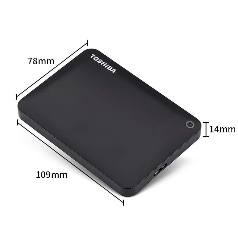 Toshiba disco duro portátil 1 TB 2TB envío gratis portátiles disco duro Externo 1 TB Disque dur hd Externo USB3.0 HDD 2,5 disco duro - 3