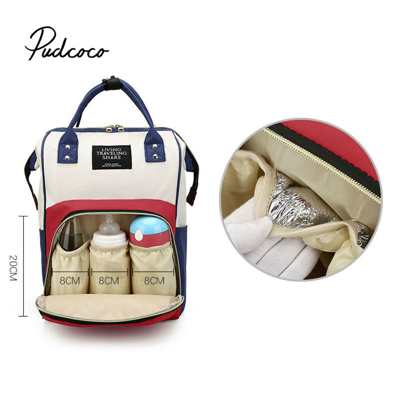 Pudcoco Fashion Mummy Maternity Nappy Bag Brand Large Capacity Baby Bag Travel Backpack Designer Nursing Bag For Baby Care