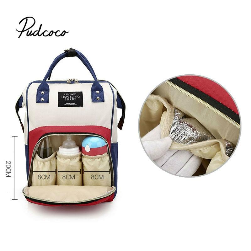 Pudcoco Fashion Mummy Maternity Nappy Bag Brand Large Capacity Baby Bag Travel Backpack Designer Nursing Bag For Baby Care