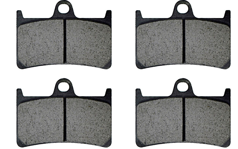 XJR 1300 Motorcycle Brake Pads For Yamaha 5EA9/5EAG 298mm Front disc 2000 FR Rear XJR1300