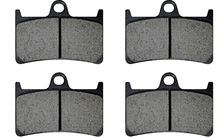 цены на XJR 1300 Motorcycle Brake Pads For Yamaha XJR 1300 5EA9/5EAG 298mm Front disc 2000 FR Motorcycle Brake Pads Front Rear XJR1300